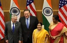 Đối thoại 2+2 và lộ trình rõ ràng hơn trong quan hệ Mỹ-Ấn Độ