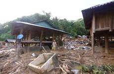 Thanh Hóa: Hình ảnh bản Poọng tan hoang sau cơn lũ dữ