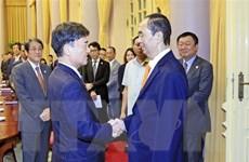Chủ tịch nước tiếp Cố vấn đặc biệt Tập đoàn Mainichi của Nhật Bản