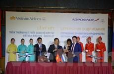 Vietnam Airlines kỷ niệm 25 năm đường bay Việt Nam-Liên bang Nga