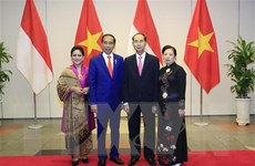 Chiêu đãi trọng thể Tổng thống Cộng hòa Indonesia và Phu nhân