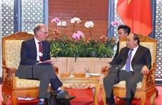 Thủ tướng Nguyễn Xuân Phúc tiếp Tổng Giám đốc Tập đoàn Carlsberg