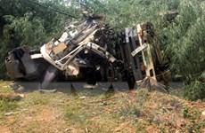 Hiện trường vụ tai nạn thảm khốc làm 12 người chết tại Lai Châu