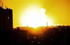 Máy bay chiến đấu của Israel không kích phía Bắc Dải Gaza