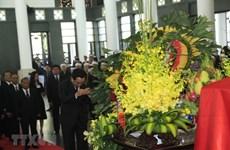 Tình cảm của bạn bè quốc tế đối với Chủ tịch nước Trần Đại Quang