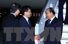 [Photo] Thủ tướng tới New York tham dự Phiên thảo luận ĐHĐ LHQ