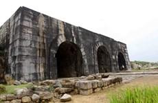 Quỹ AFCP tài trợ tu sửa khẩn cấp mái vòm cổng Nam Thành Nhà Hồ