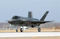 Chiến đấu cơ F-35 trị giá 100 triệu USD của Mỹ lần đầu tiên bị rơi