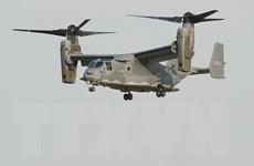 Mỹ điều thêm máy bay Osprey tới căn cứ Yokota ở Nhật Bản