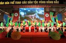 Lùi thời gian tổ chức Tuần Văn hóa Thể thao các dân tộc vùng Đông Bắc