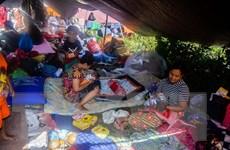 Động đất tại Indonesia: Nhiều trẻ em lạc bố mẹ phải ngủ ngoài đường