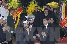 Hình ảnh lãnh đạo Hà Nội viếng nguyên Tổng Bí thư Đỗ Mười