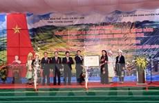 Khu bảo tồn Na Hang-Lâm Bình nhận bằng danh thắng cảnh Quốc gia