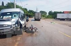 Liên tiếp xảy ra 2 vụ tai nạn giao thông trên Quốc lộ 18A
