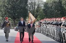 Tiếp tục những hoạt động của Thủ tướng Nguyễn Xuân Phúc tại Áo