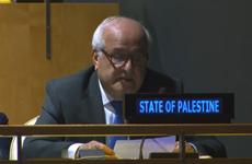 LHQ ủng hộ việc trao Palestine quyền tạm thời giữ chức Chủ tịch G77