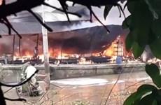 Bến Tre: Nổ bình gas trên tàu chở dầu làm một người tử vong