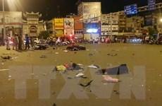 Hình ảnh xe cộ ngổn ngang trong vụ tai nạn liên hoàn tại TP.HCM