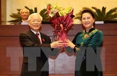 Lãnh đạo các nước gửi điện mừng Tổng Bí thư được bầu làm Chủ tịch nước