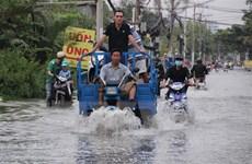Ngăn chặn tình trạng sụt lún ở Đồng bằng sông Cửu Long