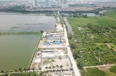 Cảng Khuyến Lương là một trong bốn cảng hàng hóa chính tại Hà Nội