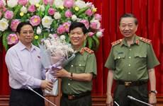 Đảng ủy Công an TW công bố quyết định Bộ Chính trị về công tác cán bộ