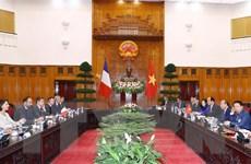 Thủ tướng Nguyễn Xuân Phúc hội đàm với Thủ tướng Pháp Édouard Philippe