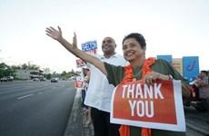 Bà Leon Guerrero được bầu là nữ thống đốc đầu tiên của đảo Guam