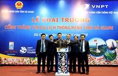 Khai trương Cổng thông tin du lịch thông minh Hà Giang