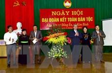 Ngày hội Đại đoàn kết tại Tuyên Quang, Trà Vinh, Hà Nam
