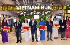 Khai trương Gian hàng Việt tại Trung tâm thương mại Thượng Hải