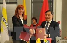 Việt Nam và vùng Wallonie-Bruxelles của Bỉ ký kết 25 dự án hợp tác