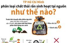 TP.HCM phân loại chất thải rắn sinh hoạt tại nguồn như thế nào?