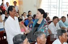 Cần Thơ: Chủ tịch Quốc hội tiếp xúc cử tri tại huyện Phong Điền