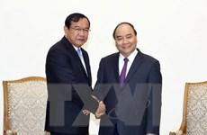 Quan hệ Việt Nam-Campuchia có những bước phát triển tích cực