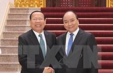 Thủ tướng Nguyễn Xuân Phúc tiếp Bộ trưởng Bộ Kế hoạch Campuchia