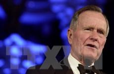 """Mỹ treo cờ rủ 30 ngày tưởng nhớ cố Tổng thống Bush """"cha"""""""