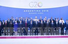 Tổng thống Nga, Mỹ gặp chớp nhoáng bên lề Hội nghị G20