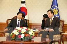Phó Thủ tướng Trịnh Đình Dũng: Việt Nam coi trọng quan hệ với Hàn Quốc