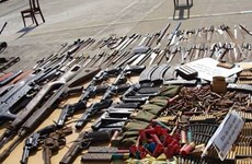 Hà Nội: Triệt phá 'đại lý' buôn bán vũ khí trái phép qua mạng xã hội