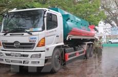 Tạm giữ xe bồn chở 20.000 lít xăng không rõ nguồn gốc