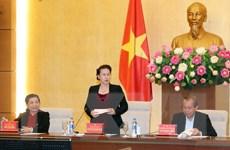 Đoàn kiểm tra của Bộ Chính trị thông báo kết quả về Đảng đoàn Quốc hội