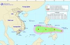 Áp thấp nhiệt đới xuất hiện trên vùng biển phía Đông Nam Philippines