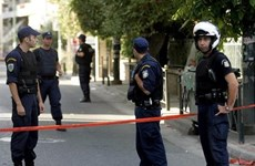 Hy Lạp: Thiết bị nổ làm một cảnh sát bị thương ở trung tâm Athens