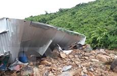 Khánh Hòa: Lở đất gây sập nhà, 2 người chết và 1 người mất tích