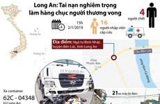 Toàn cảnh vụ tai nạn thảm khốc gây thương vong lớn tại Long An