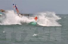 Kiên Giang: Nhiều tàu thuyền ở đảo Thổ Châu bị sóng lớn đánh chìm