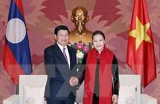Quan hệ hợp tác hai Quốc hội Việt-Lào được triển khai tích cực