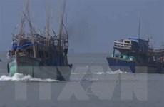 Cứu hộ thành công 1 tàu cá và 10 ngư dân gặp nạn trên biển