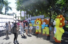 Tưng bừng Lễ hội Nhật Bản-Việt Nam lần 6 'Cùng nắm chặt tay nhau'